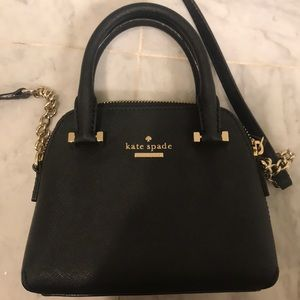 PETITE KATE SPADE CROSSBODY WITH TOP HANDLES